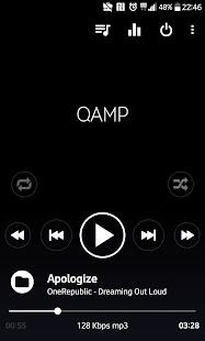 Pro Musik spieler - Mp3 Player - Qamp Screenshot
