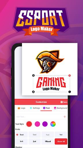 Game Logo Maker: Logo Esport Maker & Gaming Logo 1.0 screenshots 6