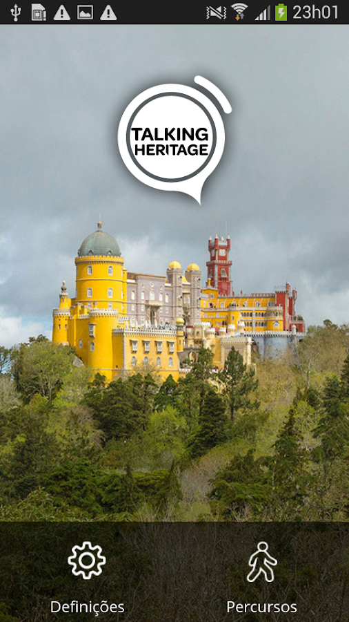 Talking Heritage - Sintra– captura de ecrã