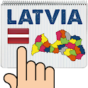 Latvia Map Puzzle Game icon