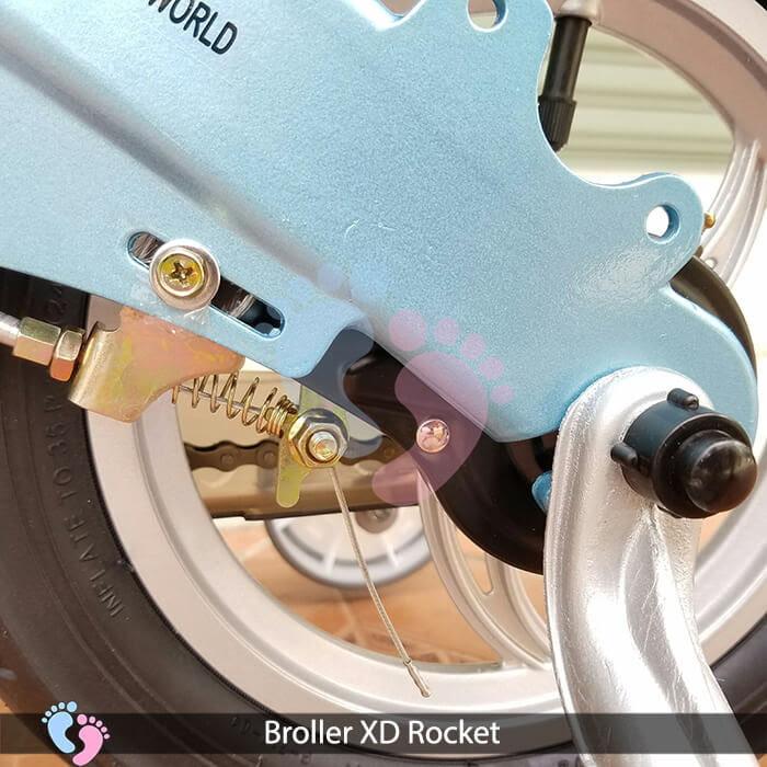 Xe đạp cho bé Broller XD Rocket 2 pt 10