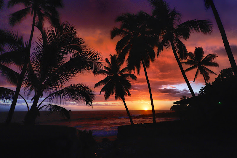 Hawai'i sunset di darkside_63