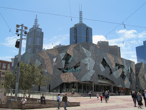 Photo: SBS building on Federation Square