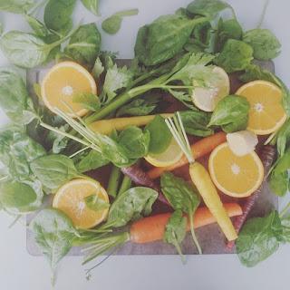 Spinach Celery Juice.