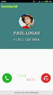 Fake Call Paul Logan - Prank - náhled