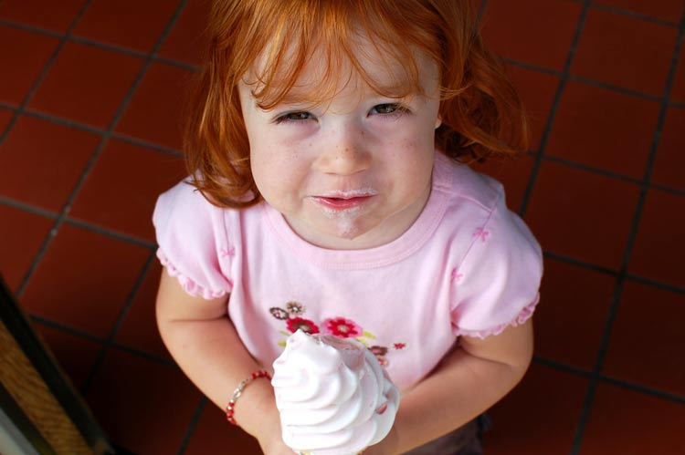 Whatever your age, cool off with some frozen yogurt.