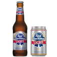 Logo of Pabst Blue Ribbon Light