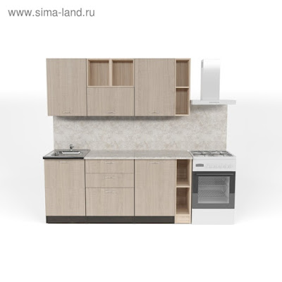 Кухонный гарнитур Надежда макси 4 1800 мм
