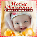 2018 New Year Christmas Photo Frame icon