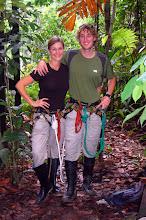 Photo: Zip line attire in the jungle