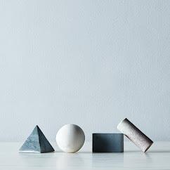 Geometric Whiskey Stones (Set of 4)