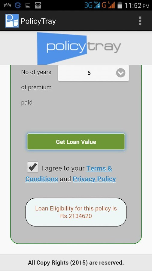 LIC Agent & Policy Holder App- screenshot
