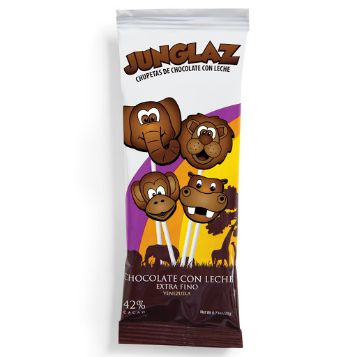 chocolate zisnella chupeta 42% cacao 20gr