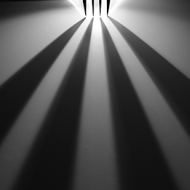 Light and Shadow by Jean Photo-Vigneault - Abstract Macro ( fork )