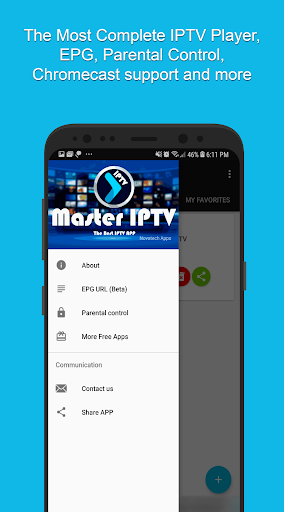 Master IPTV Player: Best Player with EPG and Cast by Nova Tech LTDA