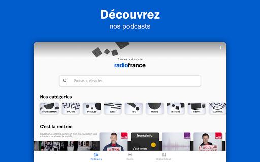 Radio France - podcasts, direct radios 6.5.2 screenshots 12