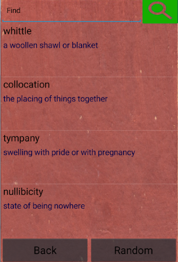 Quiz - unusual words  screenshots 5
