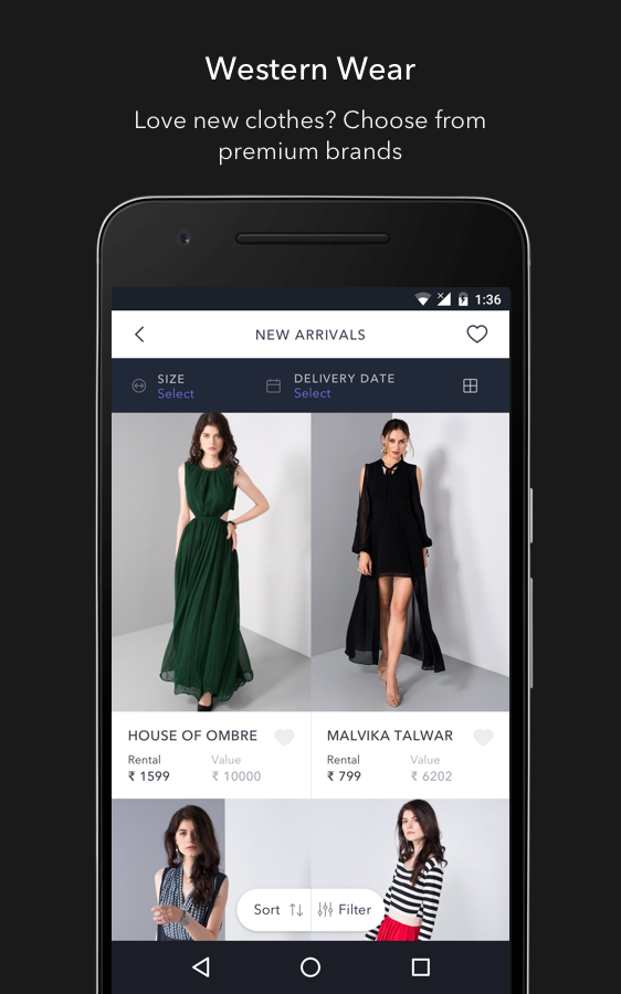 Flyrobe - Fashion on Rent- screenshot