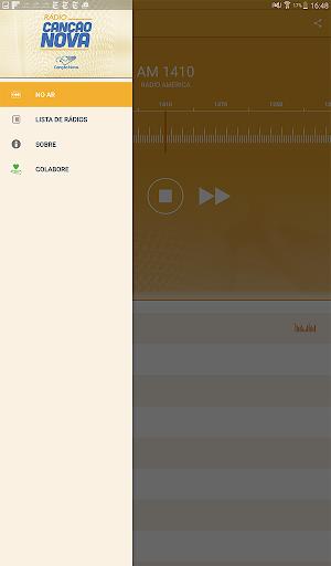 Rádio Canção Nova 3.5.1 screenshots 10