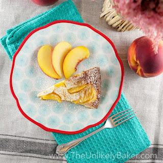 Fresh Peach Clafoutis