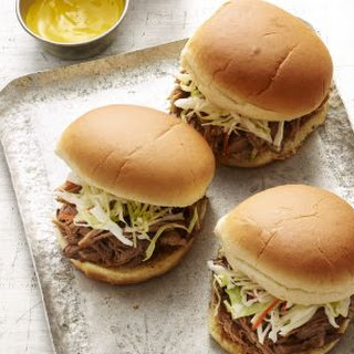 Slow-Cooker Georgia Pulled Pork Barbecue.