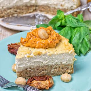 Savory Baked Cheesecake