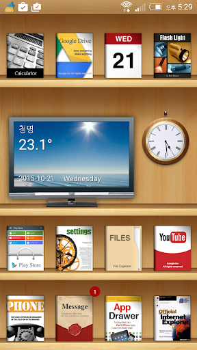 Book Theme for Total Launcher