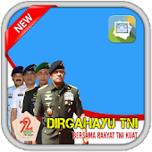 Photo Frame Dirgahayu TNI