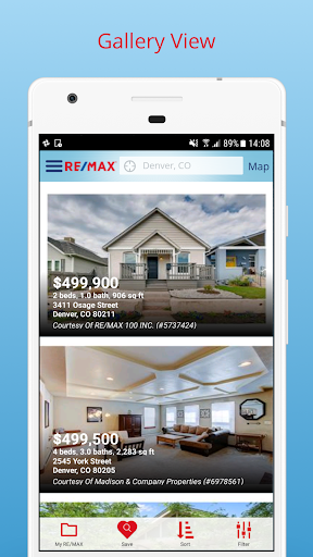 RE/MAX Real Estate Search (US) Screenshot