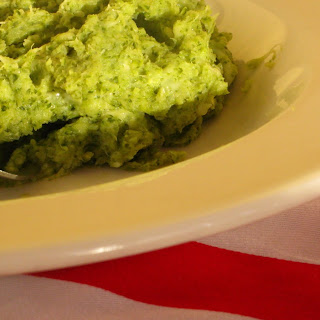 Broccoli Puree with Cheese.