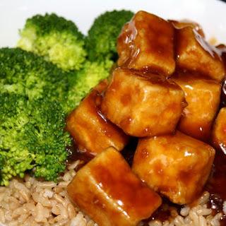 Vegan Tofu Kangjung (General Tso's Tofu).