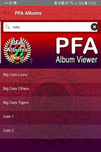 Screenshot for PFA Album Viewer in United States Play Store