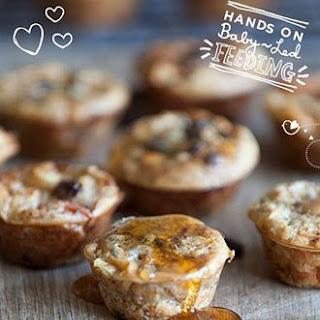 Apple and Cinnamon Super Breakfast Muffins.