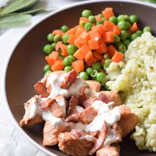 Chicken Alfredo Bake {Paleo, Clean Eating, Gluten-Free, Dairy-Free, Whole30}.