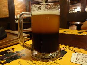 Photo: Řezané pivo podávané mistry výčepu v irkutské restauraci U Švejka.