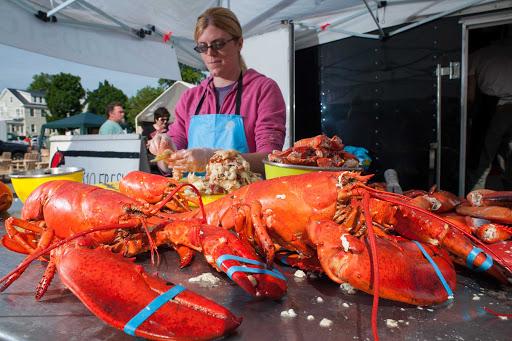 Saint John, New Brunswick, is known for its fresh lobster.