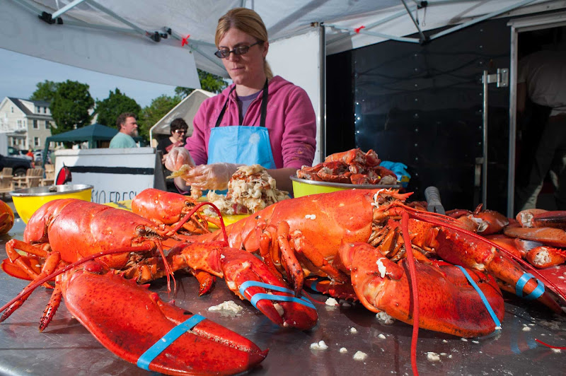 Saint John, New Brunswick, is known for its fresh lobster.