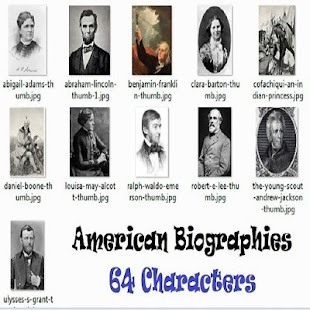 American Biographies - náhled