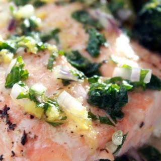 Lemon Mint Sauce Fish Recipes