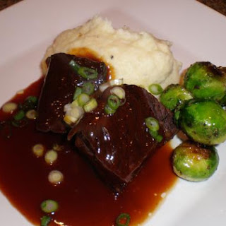 Braised Short Ribs With Orange Hoisin Sauce