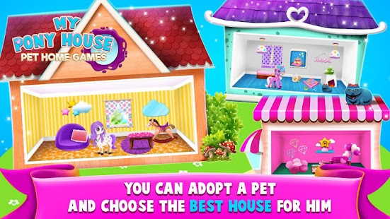 My Pony House – Pet Home Games - náhled