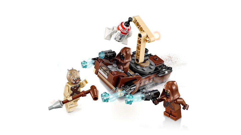 Contenido de Lego® 75198 Pack de Combate de Tatooine™