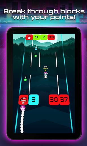 Snake Breakout: Fun PvP Battle Arcade Racing Games android2mod screenshots 10