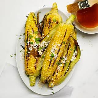 Grilled Oaxacan Corn.
