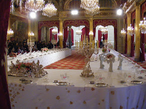 Photo: After each 5 year election, new French Presidents are inaugurated in this room, which is also frequently home to their press conferences.