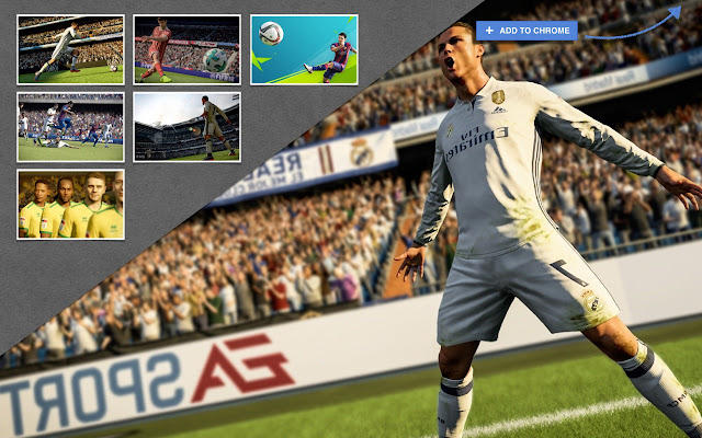 Install This Extension To Get HD Wallpapers Of The Latest Video Game In FIFA Soccer Franchise 18