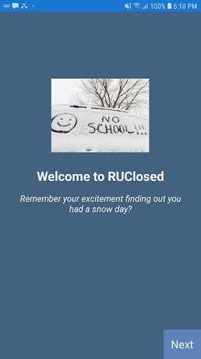 RUClosed - School / Work closed? Bad weather? ss1