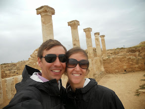 Photo: Touring the ruins in Cyprus.