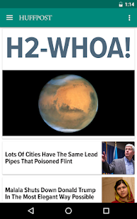 Huffington Post- screenshot thumbnail