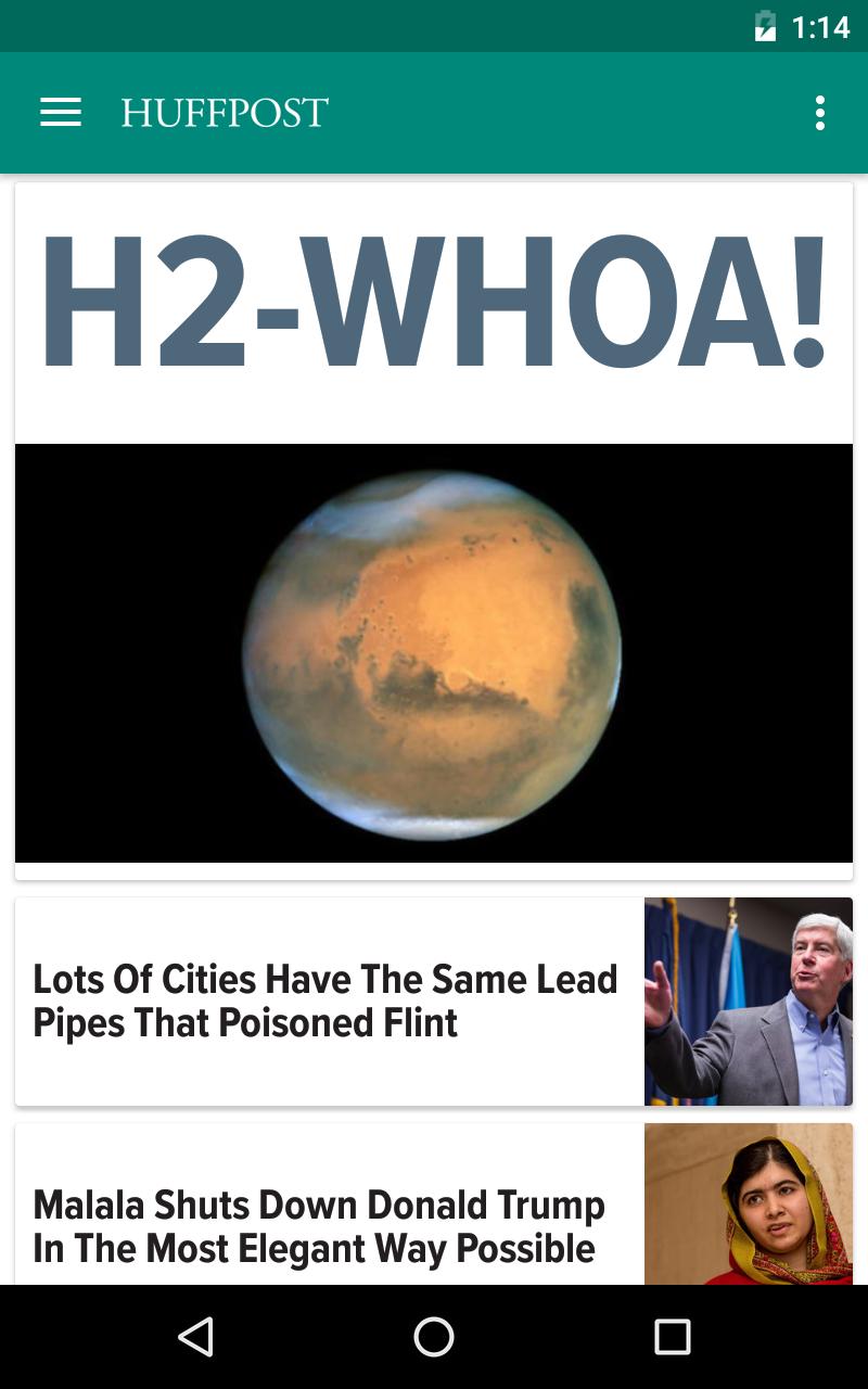 Huffington Post screenshot #5